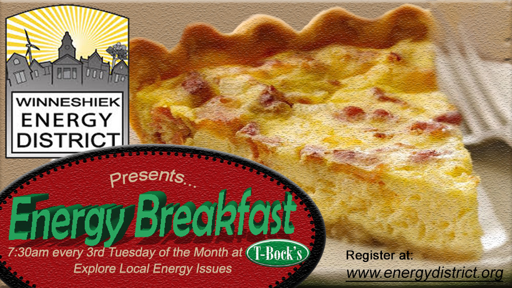 Upcoming April Energy Breakfast
