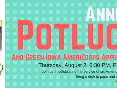 Green Iowa Appreciation Potluck
