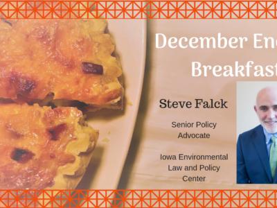 Register for Energy Breakfast with Steve Falck