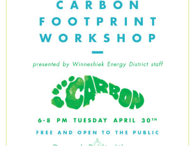 Register for the Carbon Footprint Workshop