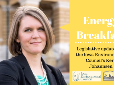 May Program features Kerri Johannsen, Iowa Environmental Council