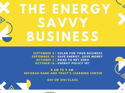 Energy Savvy Business -Fall Learning Series
