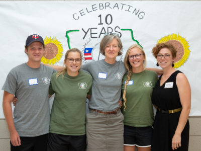 Happy 10th Birthday Green Iowa AmeriCorps!