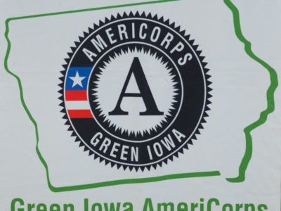 Seeking Green Iowa AmeriCorps Members