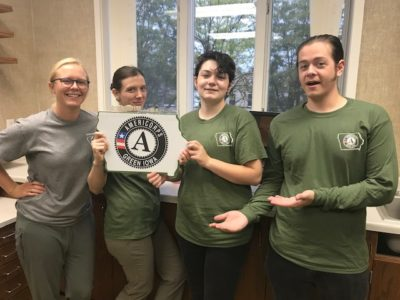 Huzzah! They are Here! 2019/20 AmeriCorps Team